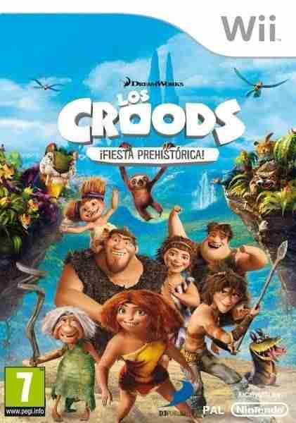Descargar The Croods Prehistoric Party [MULTI5][PAL][WiiZARD] por Torrent
